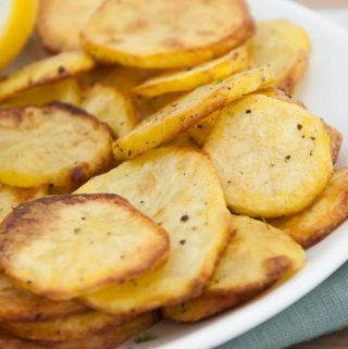 Baked Potato Slices
