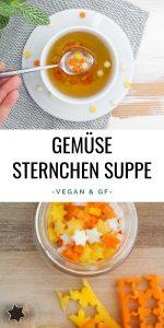 Gemüse-Sternchen-Suppe