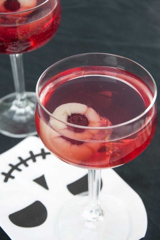 Halloween Eyeball Cocktail