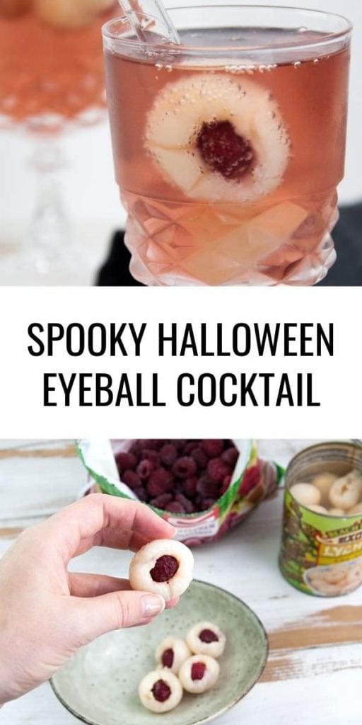 Halloween Eyeball Cocktail