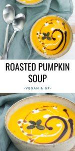 Vegan Roasted Pumpkin Soup