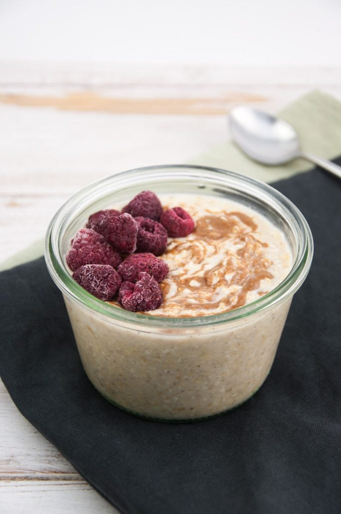 Simple Vanilla Overnight Oats