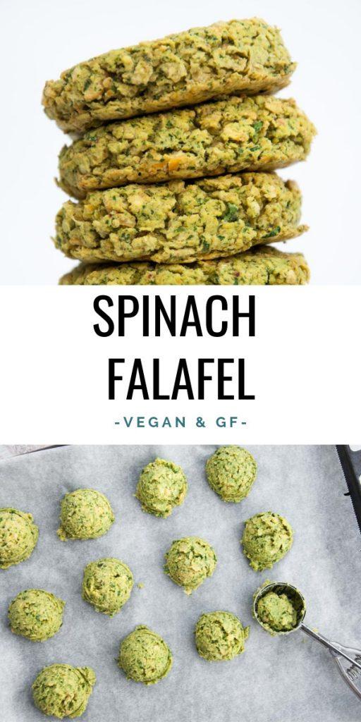Vegan Spinach Falafel