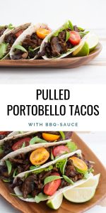 Vegan Pulled Portobello Tacos