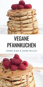 Vegane Pfannkuchen ohne Eier und Milch