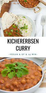 Veganes Kichererbsencurry