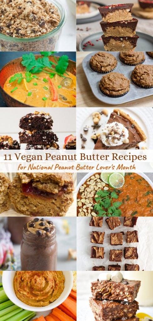 11 Vegan Peanut Butter Recipes