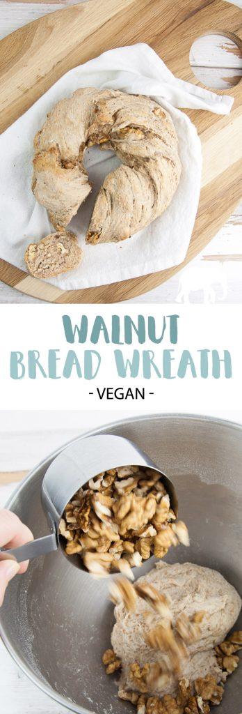Walnut Bread Wreath