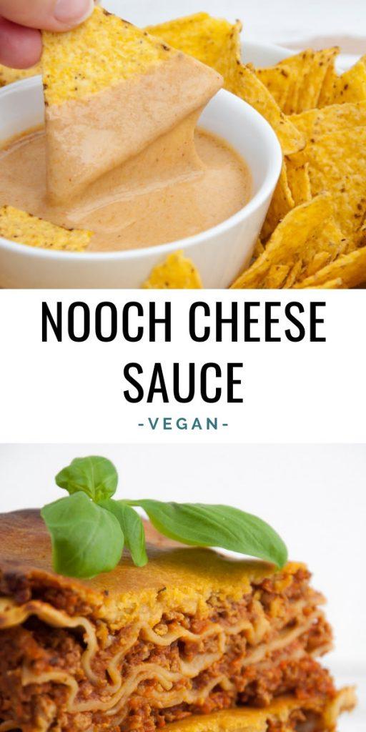 Vegan Nooch Cheese Sauce