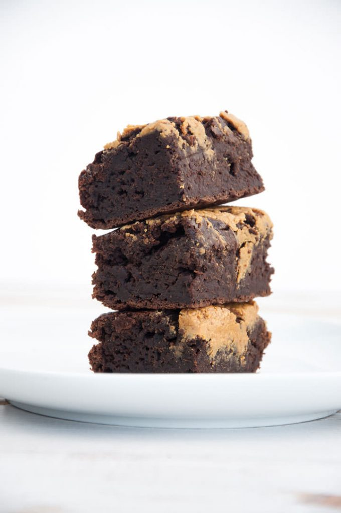 Salted Peanut Butter Brownies