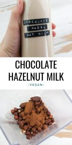 Chocolate Hazelnut Milk
