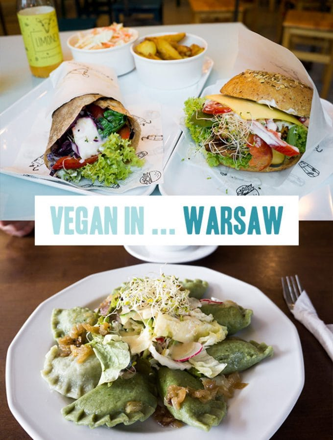 Vegan in Warsaw, Poland