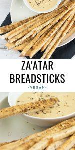 Vegan Za'atar Breadsticks