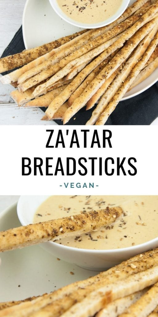 Vegan Za'atar Breadsticks