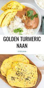 Golden Turmeric Naan