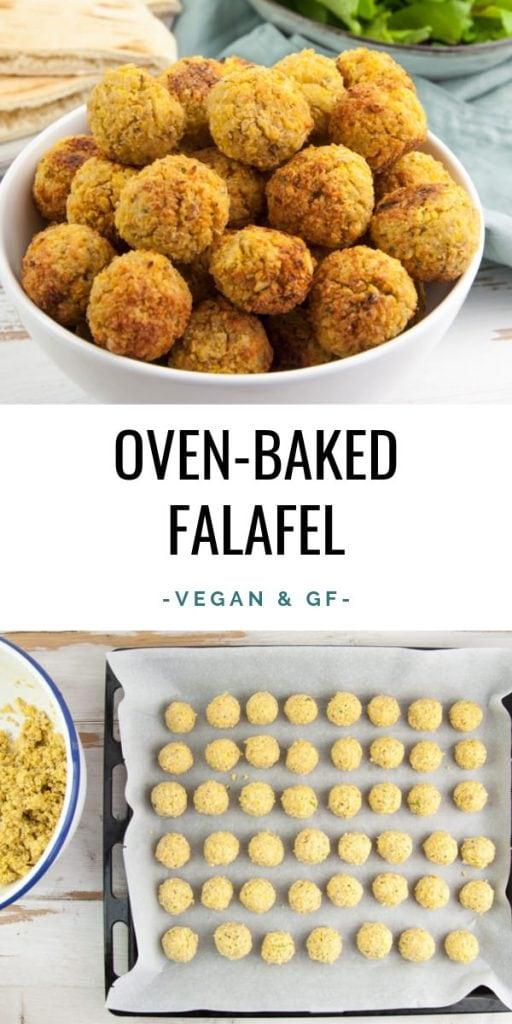 Oven-Baked Falafel