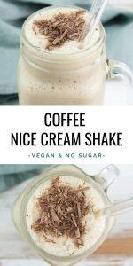 Coffee Nice Cream Shake