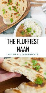 Easy Vegan Naan