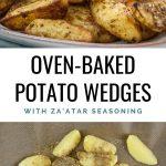 Potato Wedges with Za'atar