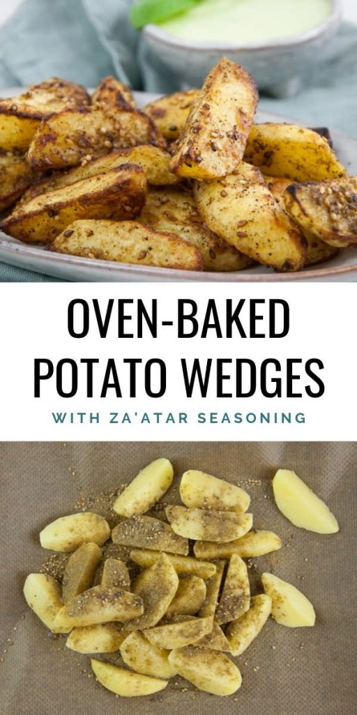 Potato Wedges with Za'atar