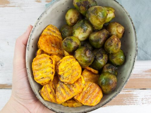 Oven Baked Sweet Potato Slices Recipe Elephantastic Vegan