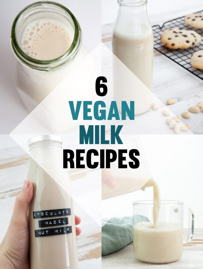 Vegan Milk Recipes