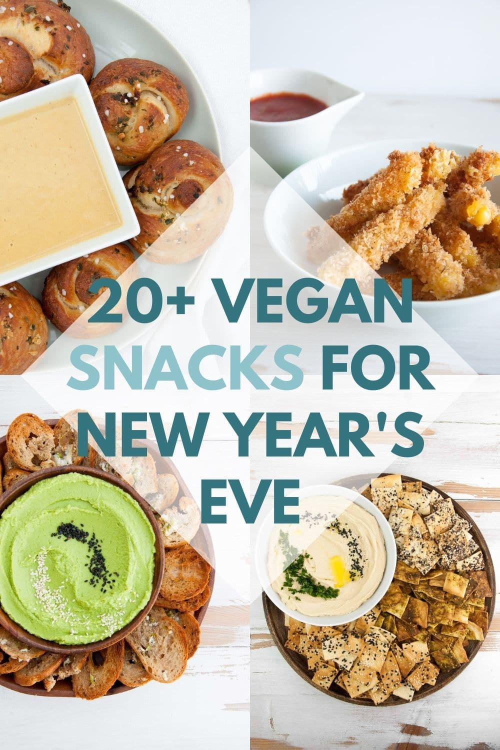 Vegan Snacks for New Years Eve