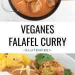 Veganes Falafel Curry