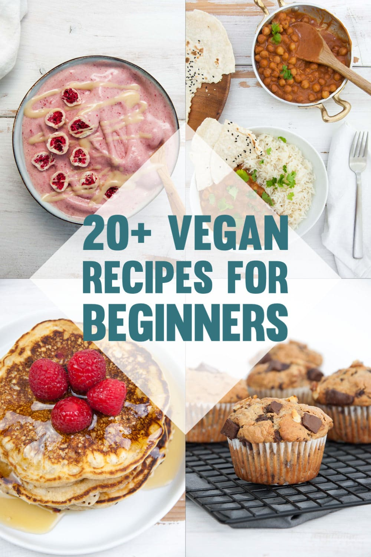 Easy Vegan Recipes For Beginners Elephantastic Vegan