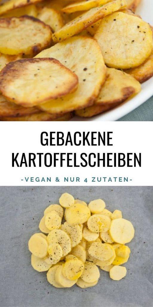 Gebackene Kartoffelscheiben