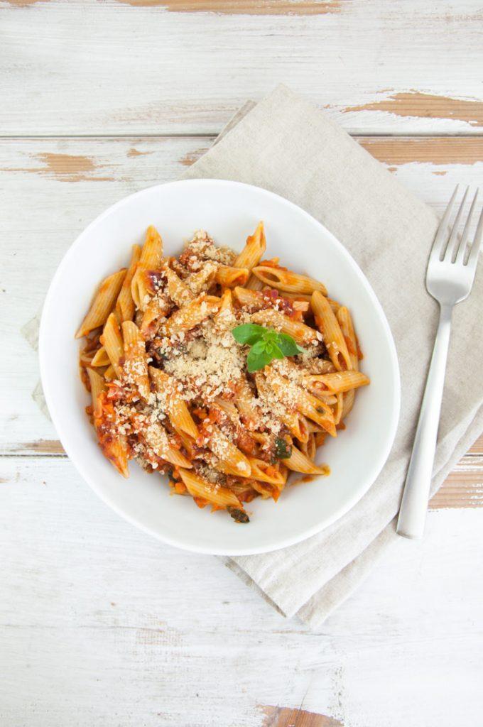 Carrot Bolognese