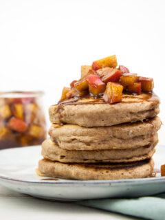 Vegan Applesauce Pancakes