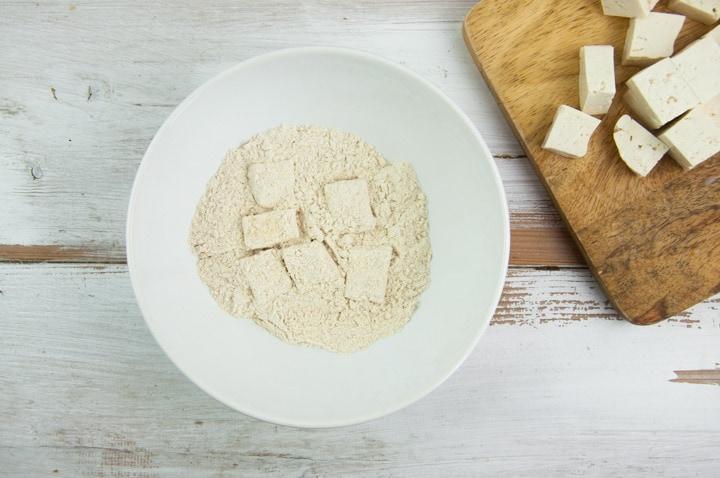 coating tofu