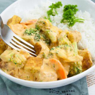 Tofu Cashew Curry