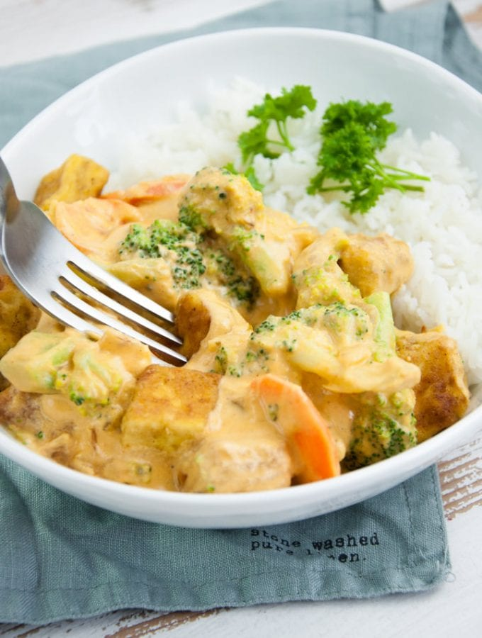 Tofu Cashew Curry