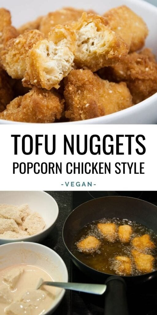 Tofu Nuggets Popcorn Chicken Style