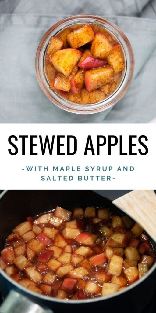 stewed apples