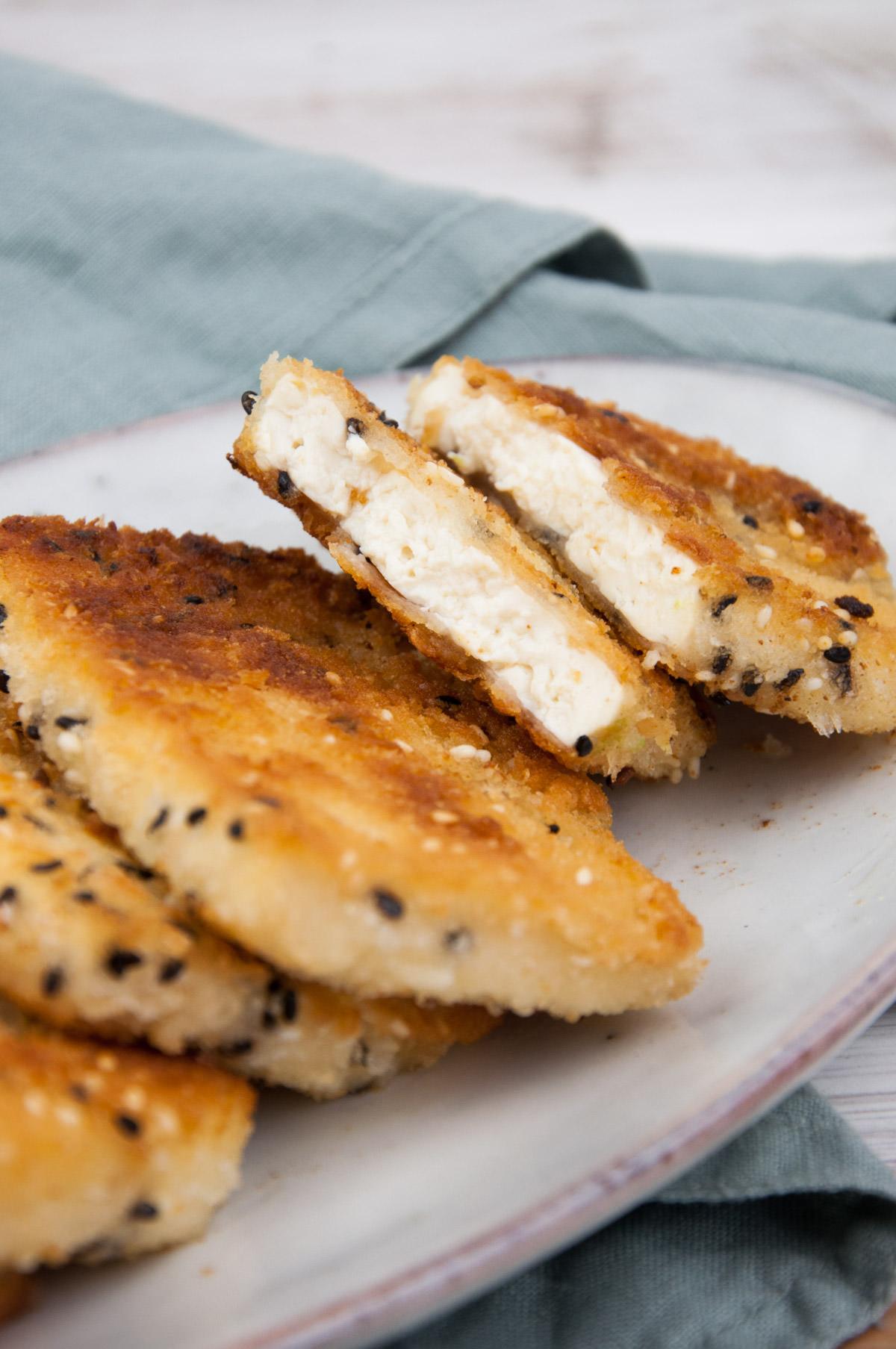 Tofu Katsu - Breaded Tofu