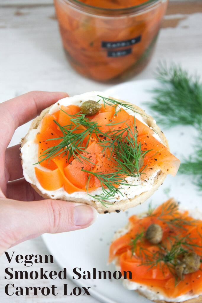 Vegan Smoked Salmon (Carrot Lox)