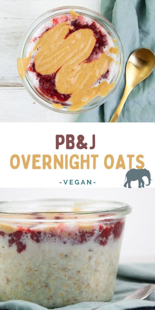 PB&J Overnight Oats